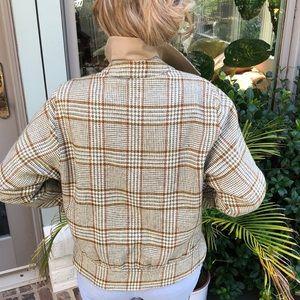 Burberry Tweed reversible Jacket Medium